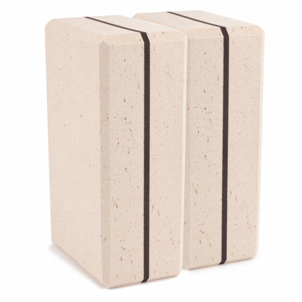 Yoga Block Bambus Set (2 Stück)